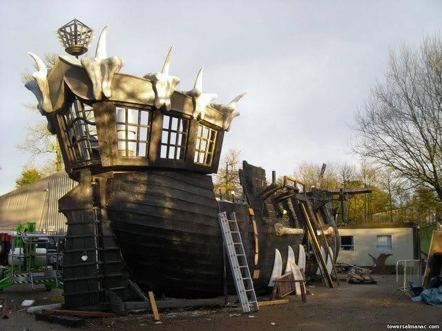 [Alton Towers 2008] Mutiny Bay : 3 Nouveautés MB3