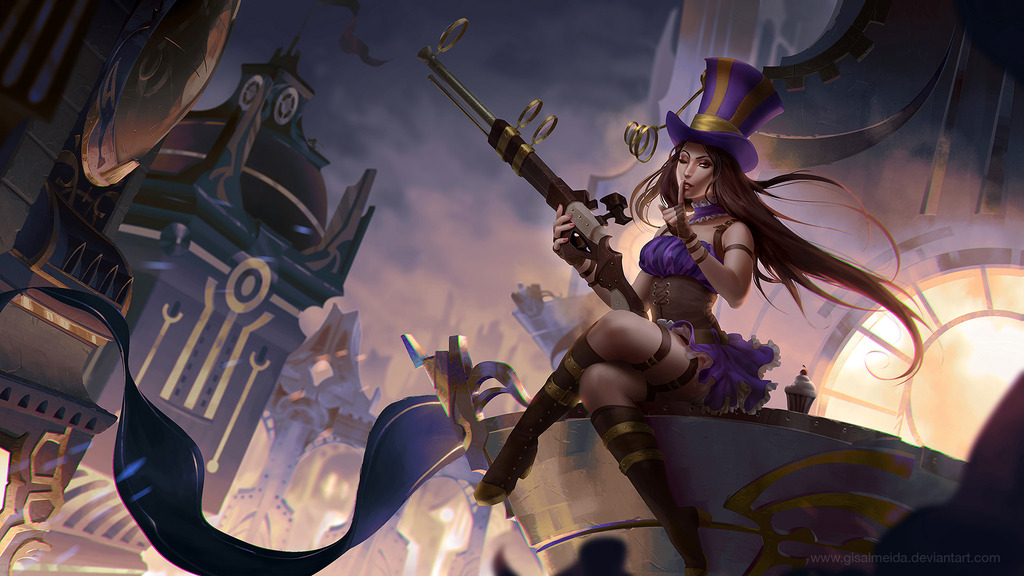 Spam With Pics 2.0 - Page 4 League_of_legends__caitlyn_by_gisalmeida-d6rxmoe_zpslejpsfjy