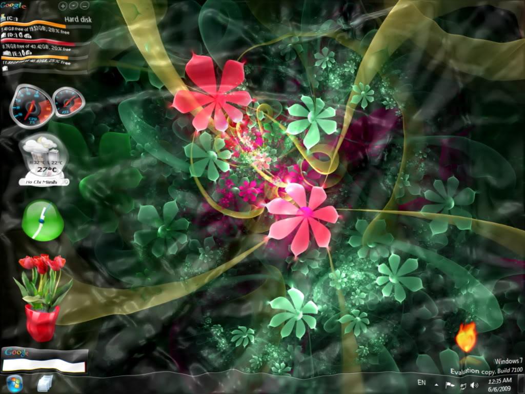 [Graphics] Watery Desktop 3D - Màn hình nền với hiệu ứng nước 3D tuyệt đẹp Fdrd