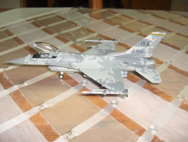 F-16CG AGGRESSOR ACADEMY 1/72 DIGI CAMO WHAT IF HPIM3809