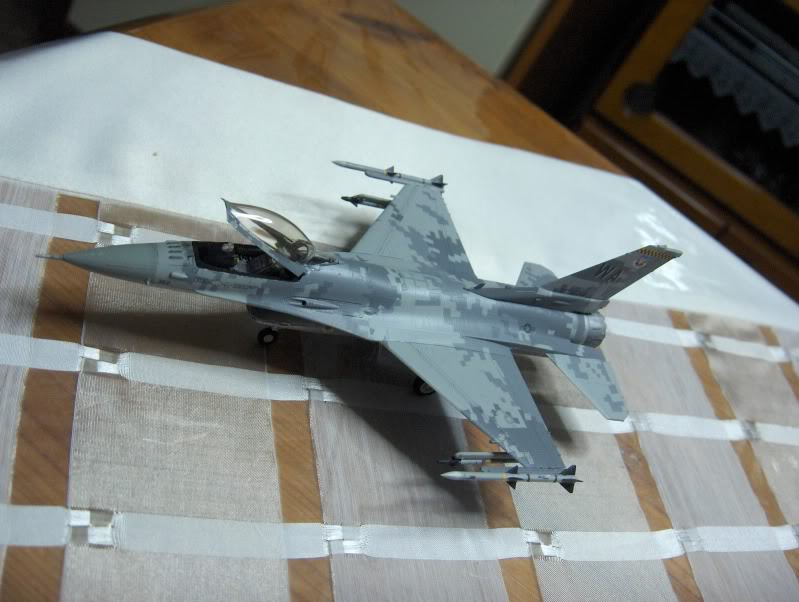 F-16CG AGGRESSOR ACADEMY 1/72 DIGI CAMO WHAT IF HPIM3818