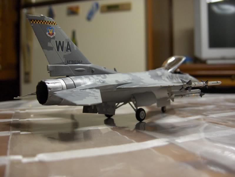 F-16CG AGGRESSOR ACADEMY 1/72 DIGI CAMO WHAT IF HPIM3822