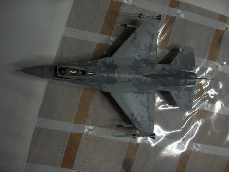 F-16CG AGGRESSOR ACADEMY 1/72 DIGI CAMO WHAT IF HPIM3831