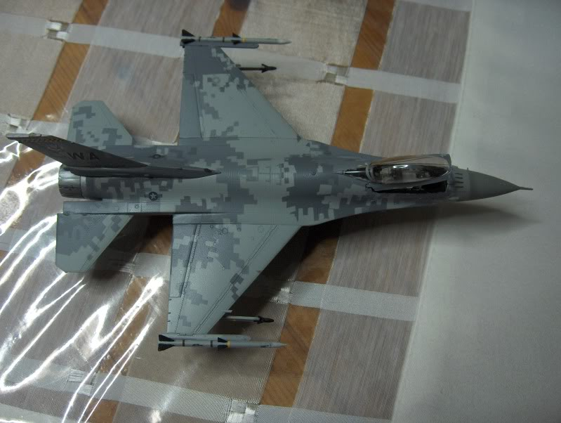F-16CG AGGRESSOR ACADEMY 1/72 DIGI CAMO WHAT IF HPIM3834