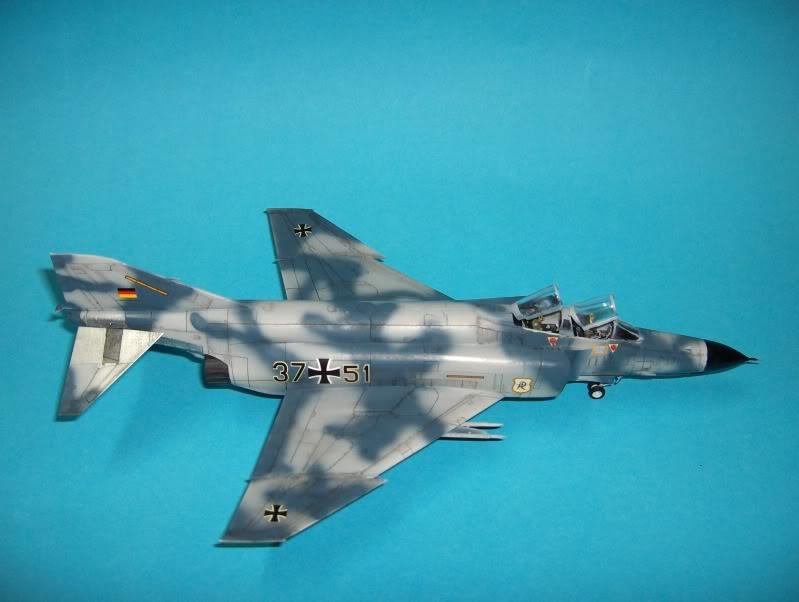 F-4F PHANTOM II EXPERIMENTAL CAMO REVELL 1/72 HPIM3999