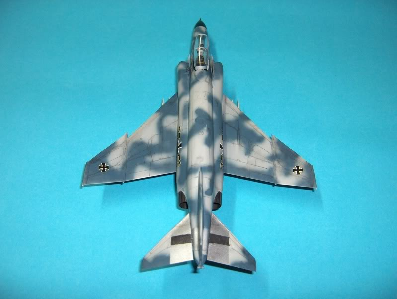 F-4F PHANTOM II EXPERIMENTAL CAMO REVELL 1/72 HPIM4002