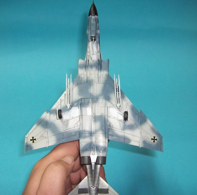 F-4F PHANTOM II EXPERIMENTAL CAMO REVELL 1/72 HPIM4005