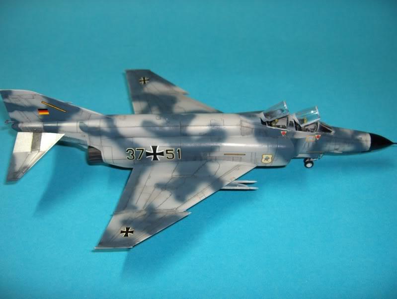 F-4F PHANTOM II EXPERIMENTAL CAMO REVELL 1/72 HPIM4006
