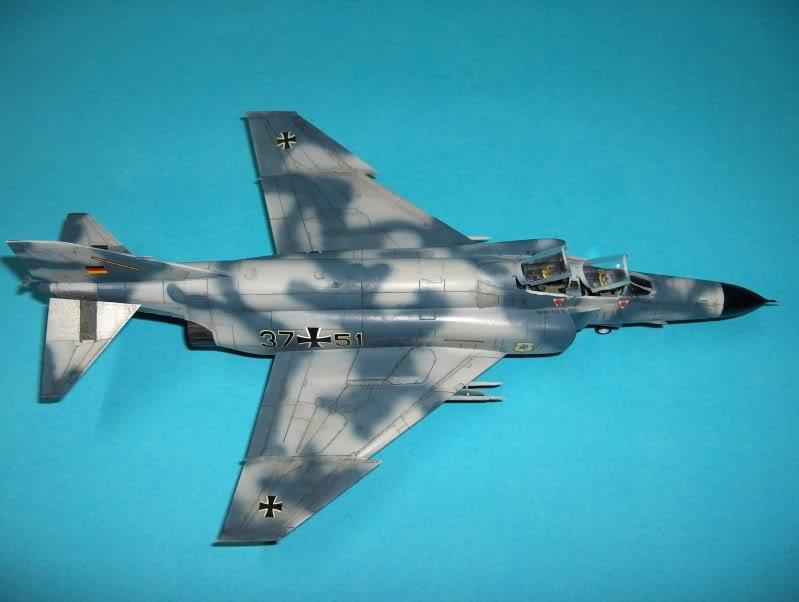 F-4F PHANTOM II EXPERIMENTAL CAMO REVELL 1/72 HPIM4007