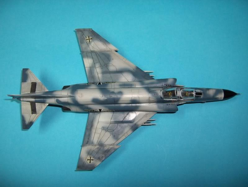 F-4F PHANTOM II EXPERIMENTAL CAMO REVELL 1/72 HPIM4008