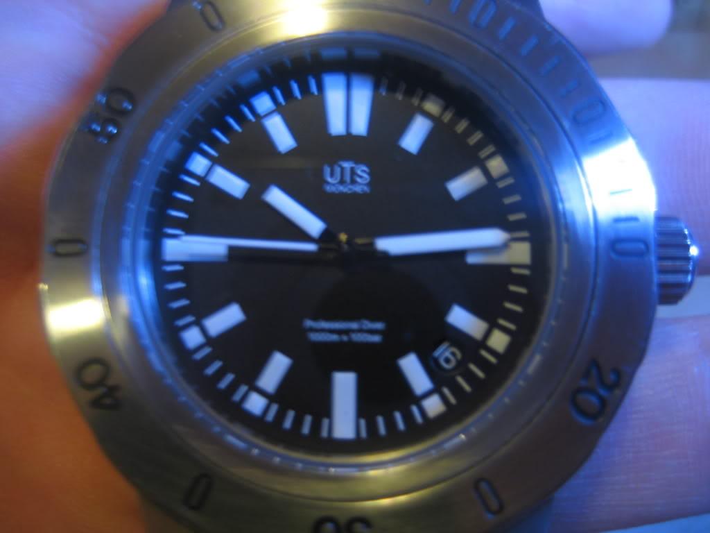 UTS 1000m dive watch just picked up last week UTS1000M099