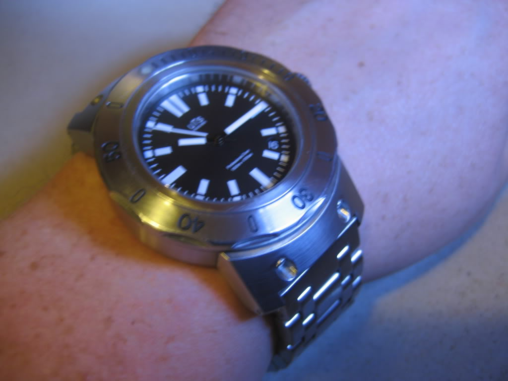 UTS 1000m dive watch just picked up last week UTS1000M102