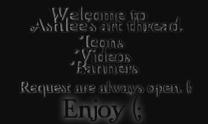 Ashlee's Art Thread [UD:15/8 Robert Art.] [Requests Open] 1