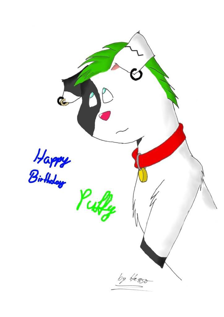 To Puffles Puffybday