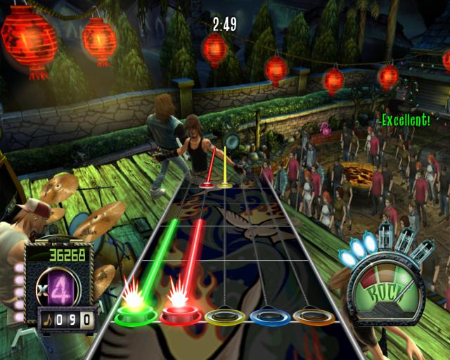 Thème Guitar Hero III Newingame