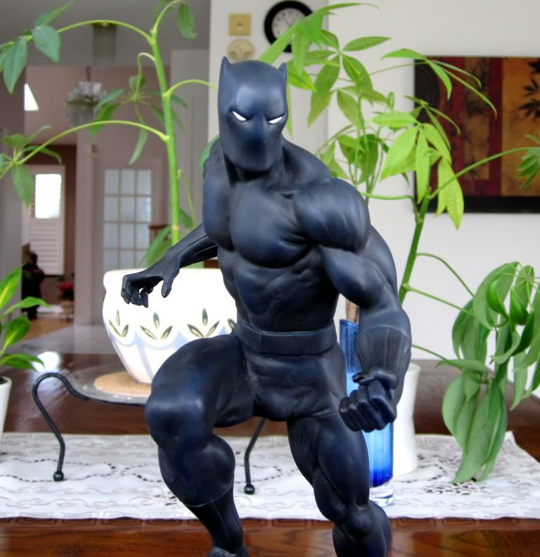 """PANTHERE NOIRE """"classic"""" (Black Panther) Bdb10"""