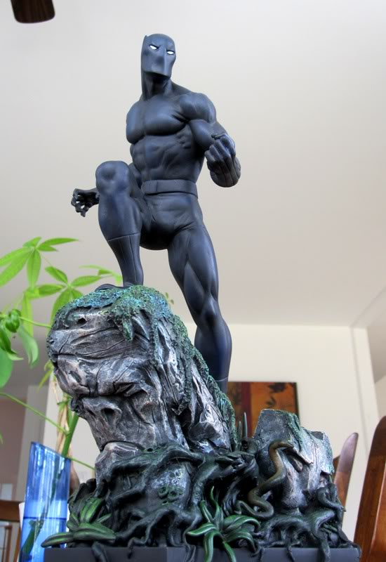 """PANTHERE NOIRE """"classic"""" (Black Panther) Bdb14"""