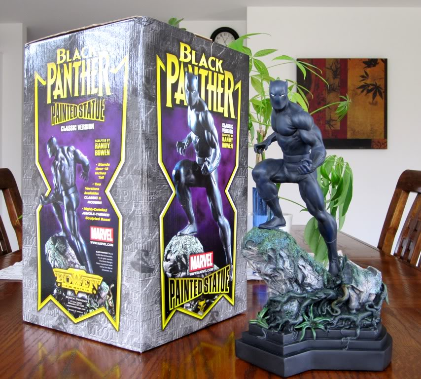 """PANTHERE NOIRE """"classic"""" (Black Panther) Bdb15"""