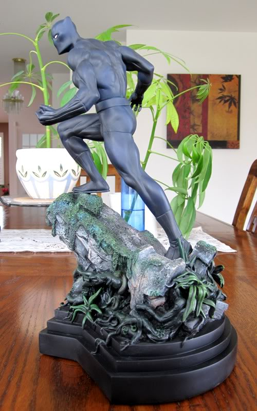 """PANTHERE NOIRE """"classic"""" (Black Panther) Bdb8"""