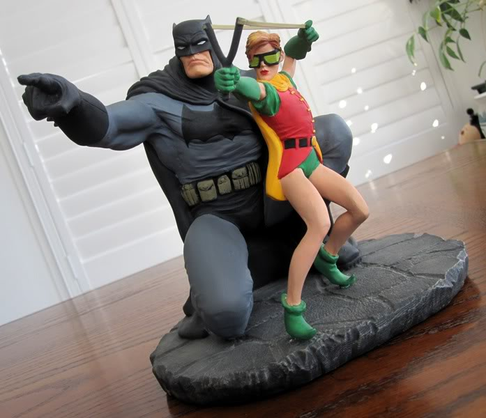"Frank Miller's ""THE DARK KNIGHT STRIKES AGAIN"" statue (1996) Dk17"