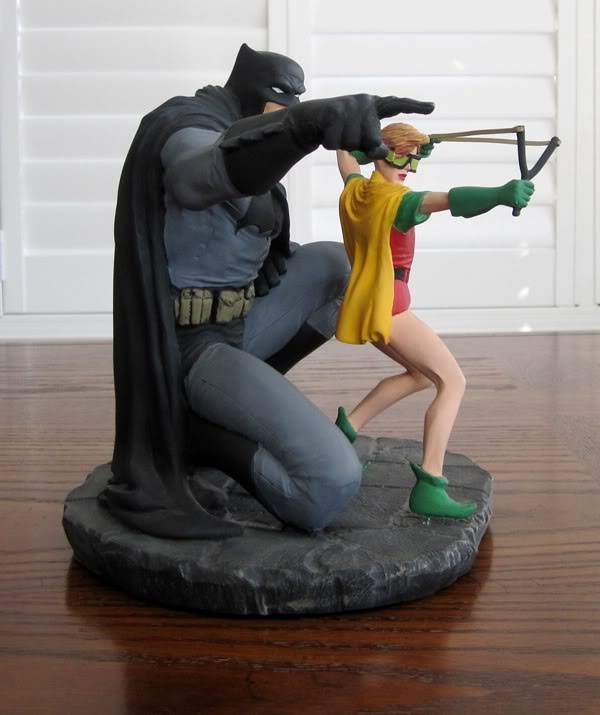 "Frank Miller's ""THE DARK KNIGHT STRIKES AGAIN"" statue (1996) Dk3"