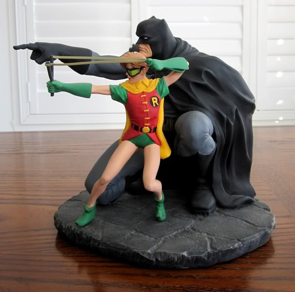 "Frank Miller's ""THE DARK KNIGHT STRIKES AGAIN"" statue (1996) Dk5"