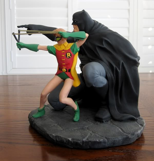 "Frank Miller's ""THE DARK KNIGHT STRIKES AGAIN"" statue (1996) Dk7"