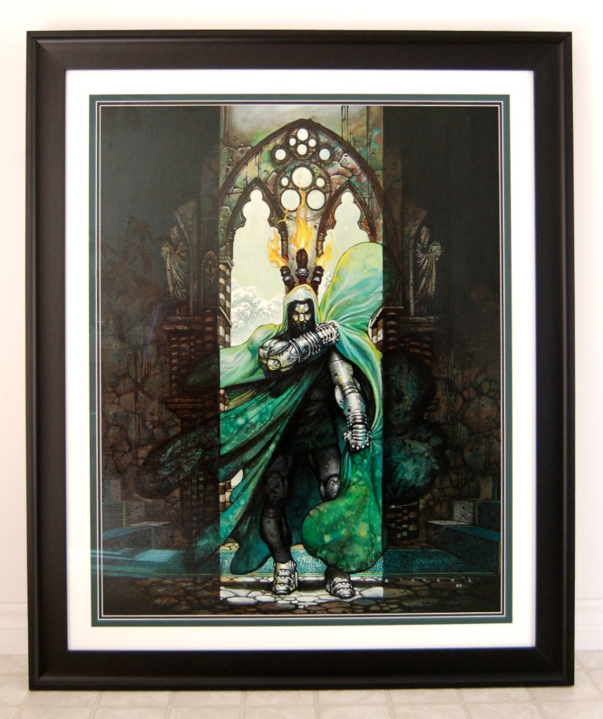 Doctor Doom Reigns Supreme - Painting by Simone Bianchi Doomf6