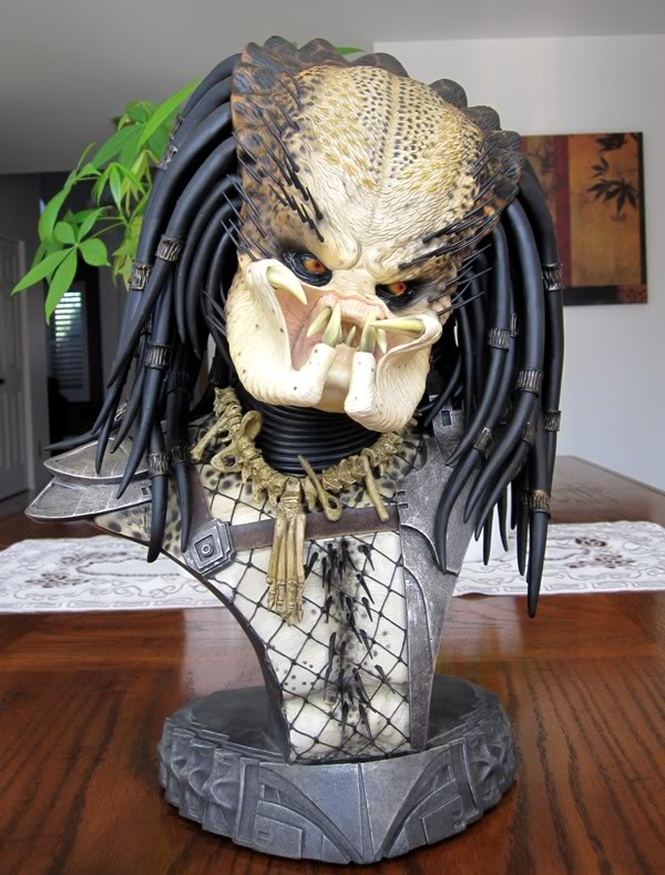 PREDATOR: THE PREDATOR Legendary scale bust Pred3