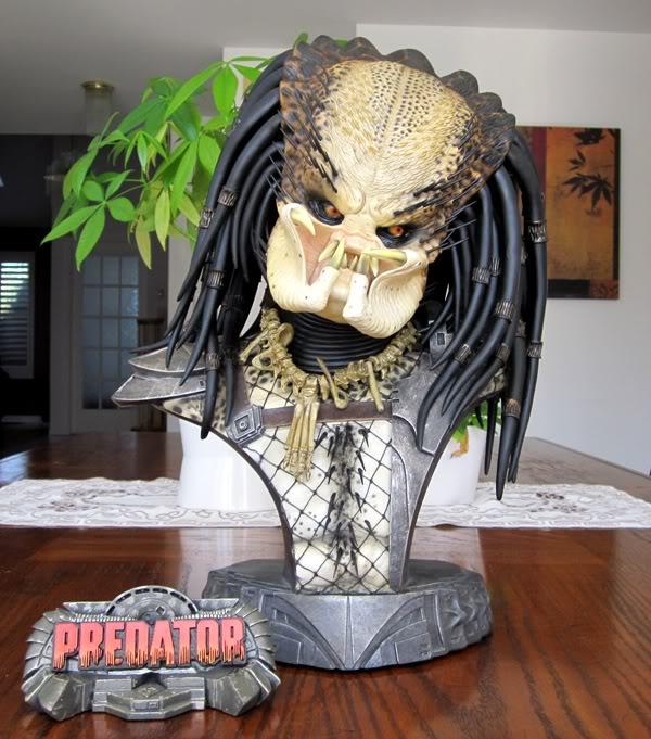 PREDATOR: THE PREDATOR Legendary scale bust Pred9