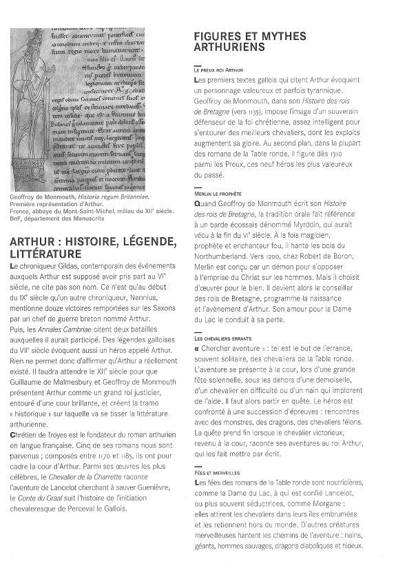 EXPO: « La légende du Roi Arthur » Livret02