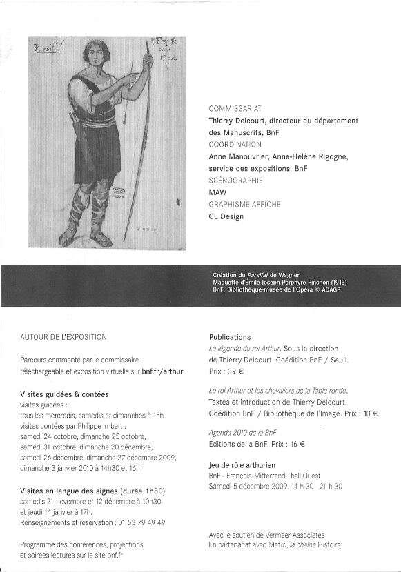 EXPO: « La légende du Roi Arthur » Livret04