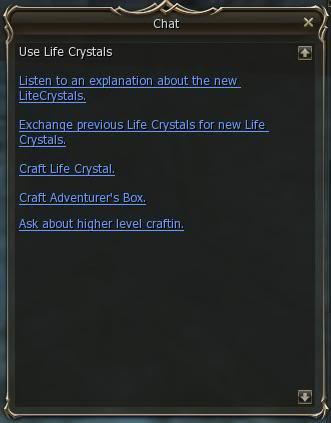 Life Crystals y Adventure Guildsman (Huevos De Raids) 2