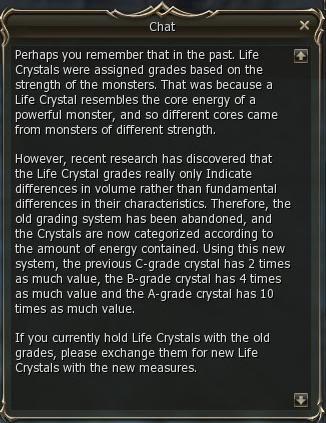 Life Crystals y Adventure Guildsman (Huevos De Raids) 3