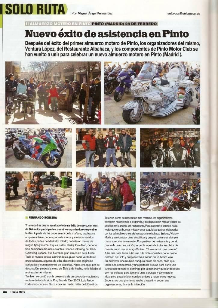 REPORTAJE FERNANDO SOLO MOTO CONCENTRACION MOTERA PINTO ,MADRID PINTOFEB10