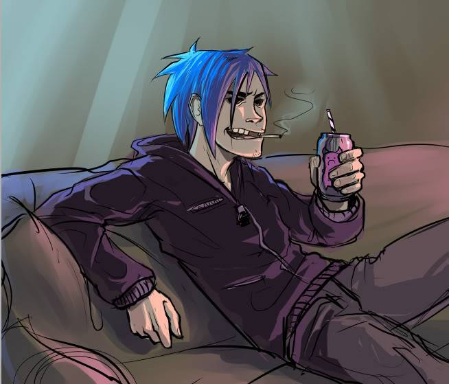 Tobias Machouse Gorillaz__2_D_by_nClaire