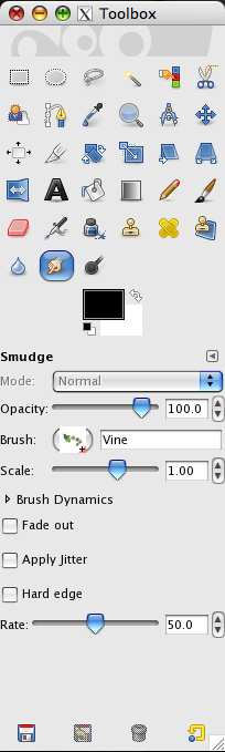 [Gimp] Abstract smudge tutorial Picture6