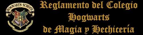 Reglamento de Hogwarts Reg