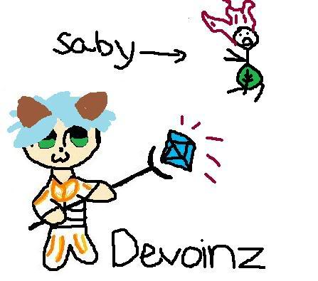 My chat drawings ;D Devoinz-1