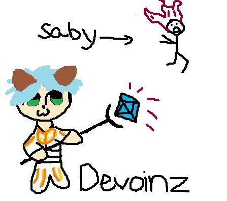 My chat drawings ;D Devoinz