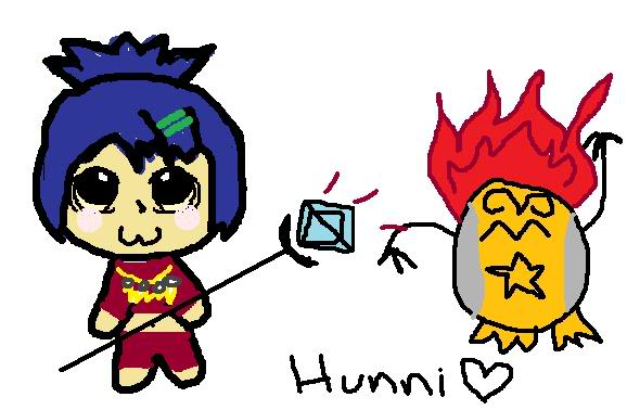 My chat drawings ;D Hunni