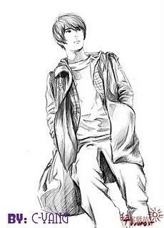 [FANART] Jaejoong - Heaven Postman Drawing Fanart