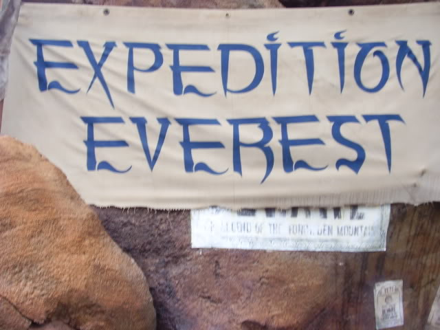 Kanye's Walt Disney World Picture Gallery! ExpeditionEverestSign
