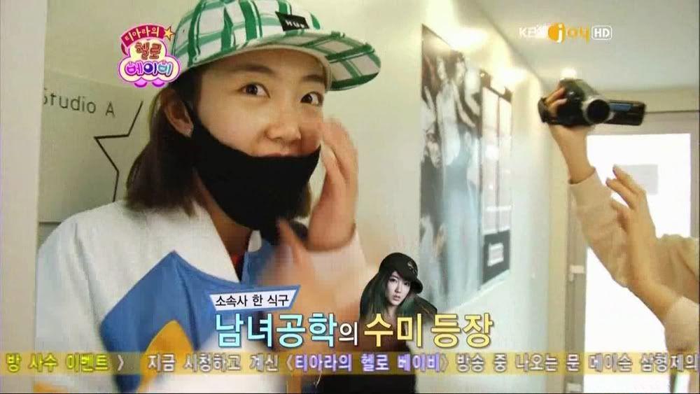 Co.Ed en tant qu'invités des T-ara à Hello Baby : Caps Soomi