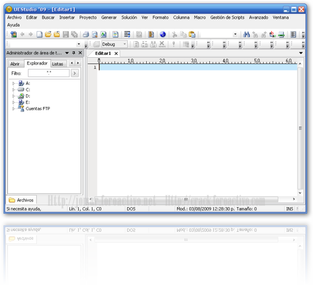 Uestudio v9.00.1 (editor de html) Editorues
