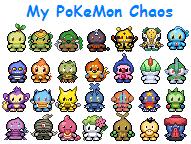 Nơi trưng bày Chaos Pokemon Pkmchaos