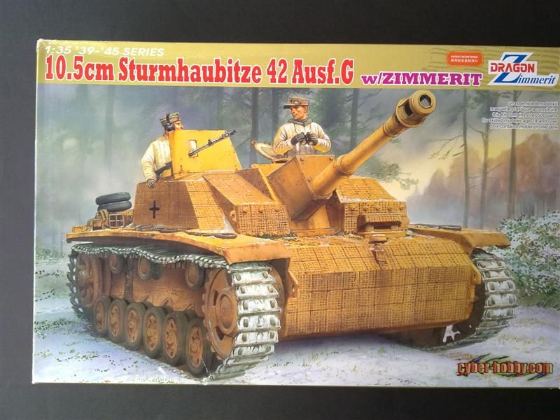 Andrew C's Build #2 - DML/CH 6454 StuH 42 w/Zim - Alkett March 1944 Production 251120126159
