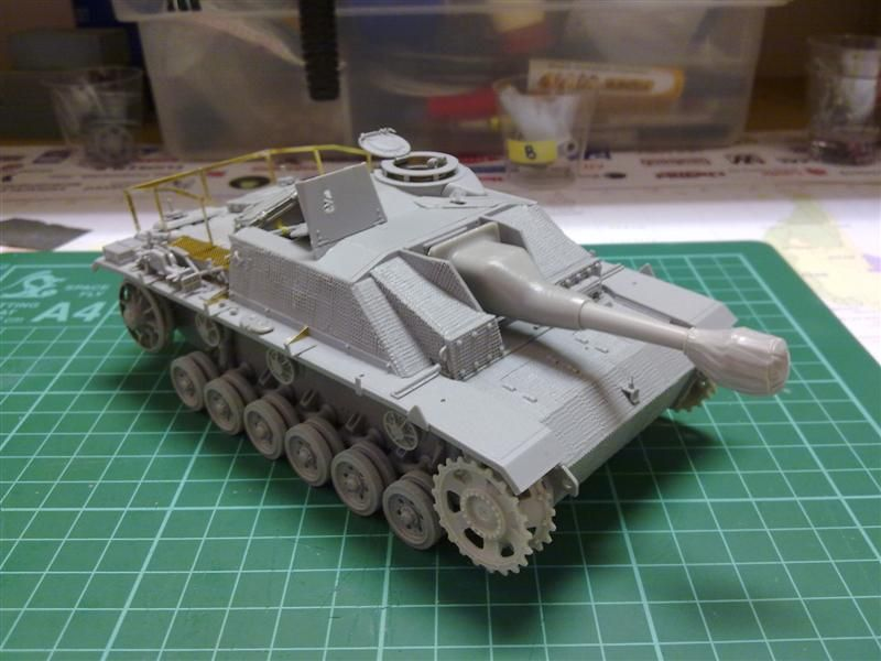 Andrew C's Build #2 - DML/CH 6454 StuH 42 w/Zim - Alkett March 1944 Production 26270