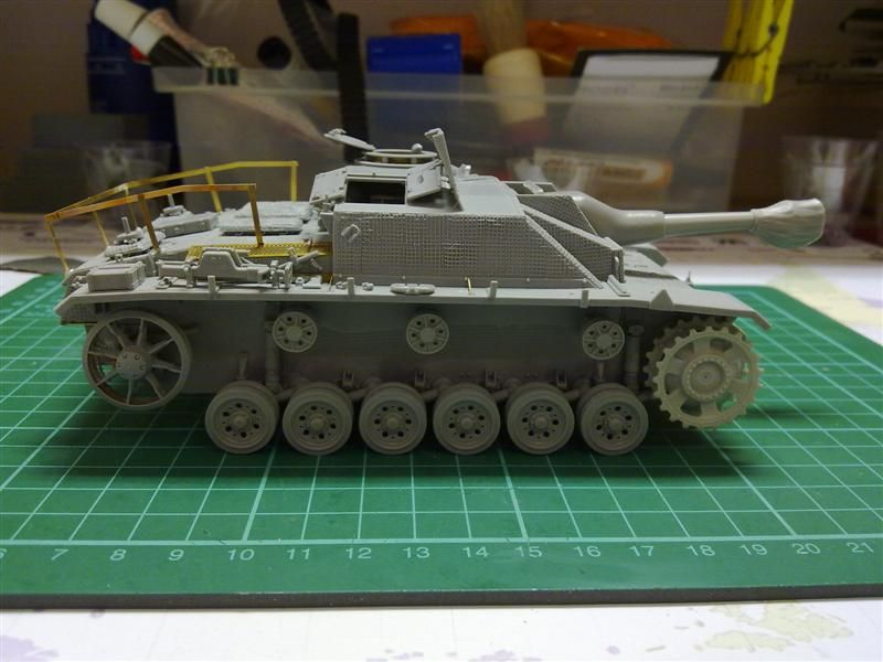 Andrew C's Build #2 - DML/CH 6454 StuH 42 w/Zim - Alkett March 1944 Production 26271