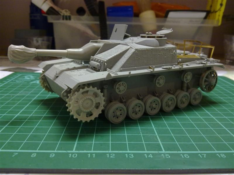 Andrew C's Build #2 - DML/CH 6454 StuH 42 w/Zim - Alkett March 1944 Production 26272